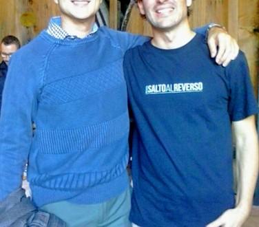 Benjamín Recacha y Antonio Garrido